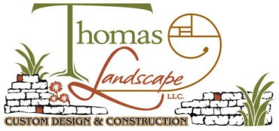 Thomas Landscaping business card